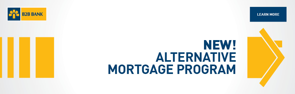 New! Alternative Mortgage Program